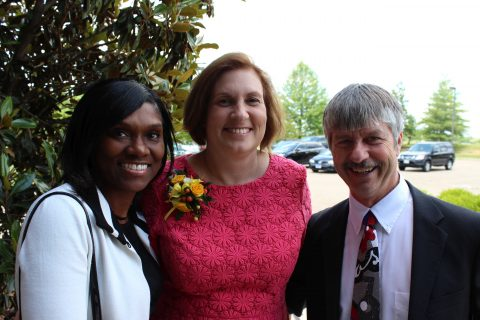 Desiree Bryant, Becky Durichek, and Keith Hallam.
